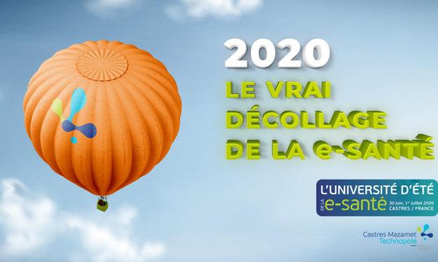 Université d'été de la e-santé | 30 Juin – 1er Juillet 2020 | Castres