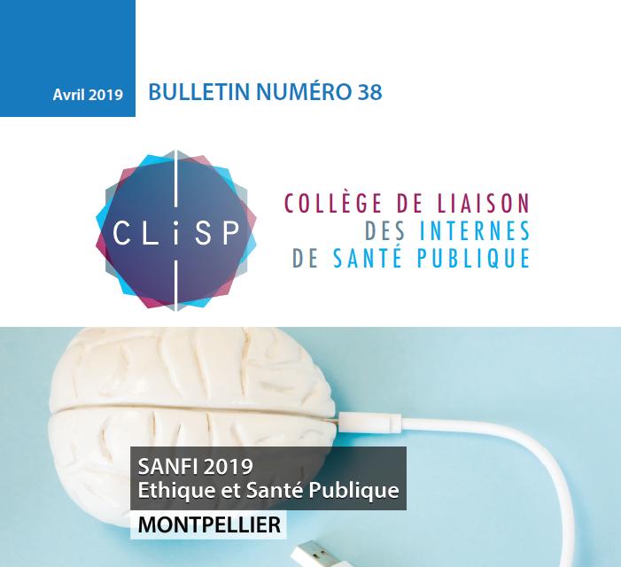Bulletin 38 – Avril 2019