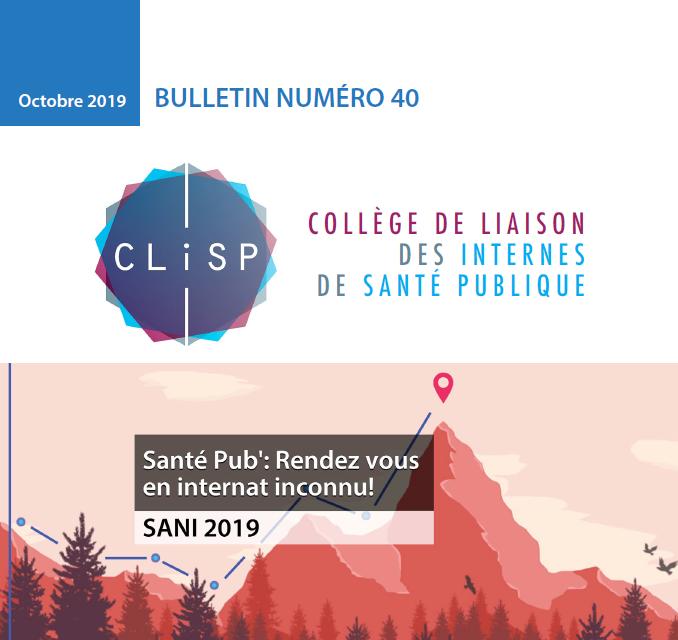 Bulletin 40 – Octobre 2019
