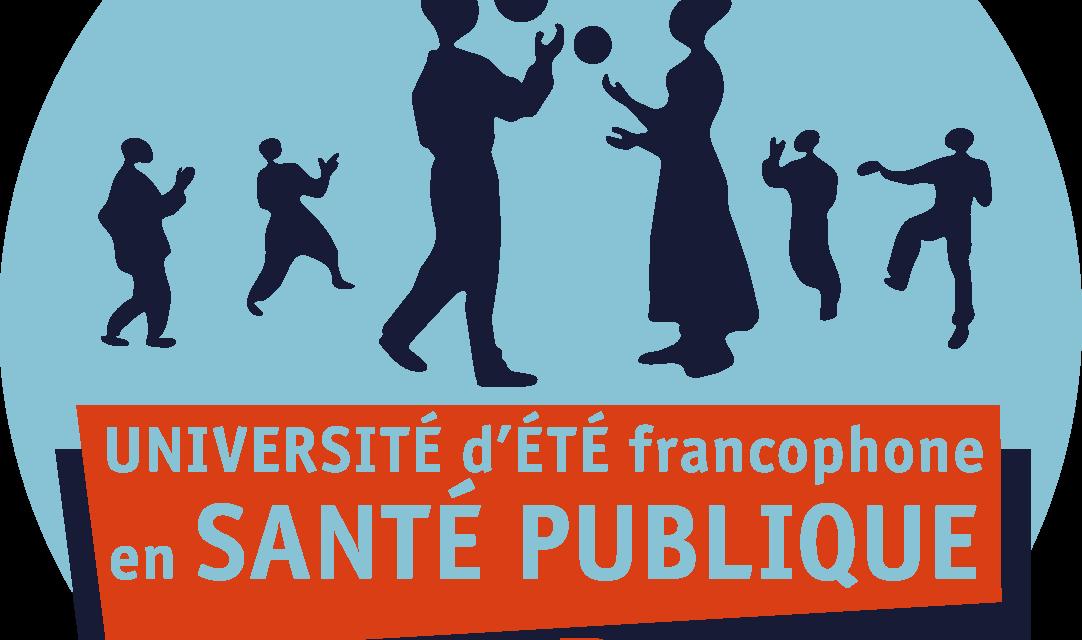 Journal et Web Conférences de l'Université d'été francophone en santé publique