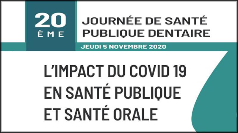 20e journée de santé publique bucco-dentaire | 5 novembre 2020 | Créteil (94)