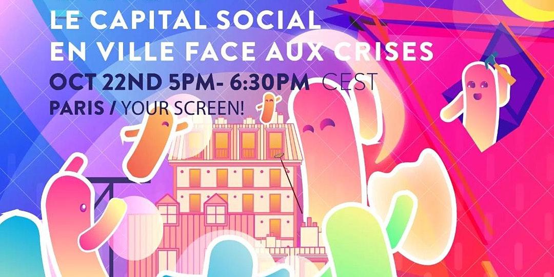 Le capital social en ville face aux crises | 22 Octobre 2020 | Dématérialisé