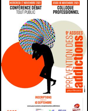 9èmes Assises Prévention des Addictions     17-18 Novembre 2021     Pays d'Ancenis